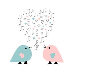 pollitos: Postales de amor