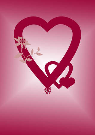 manifest: heart and love Stock Photo
