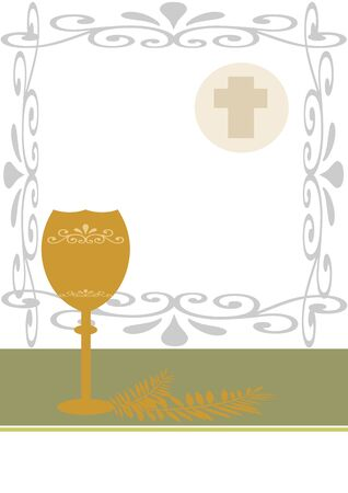 image with chalice and host