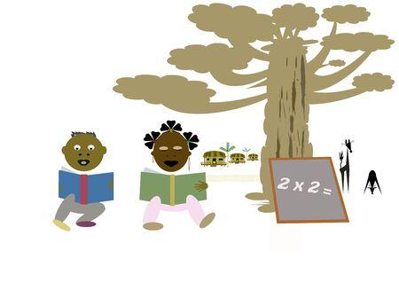 African children in school  Stock Photo - 7822080