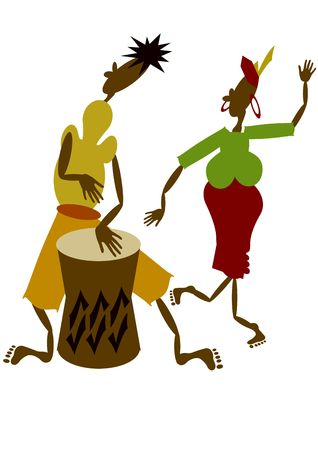 African musicians photo