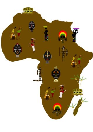 map of africa photo