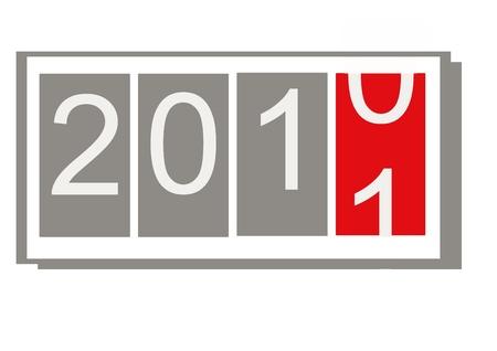 New Year 2011   Stock Photo - 8264332