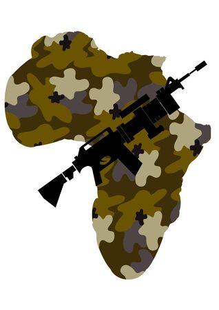 war in africa  photo