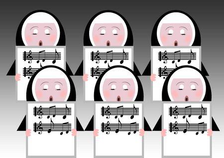 singing nuns photo
