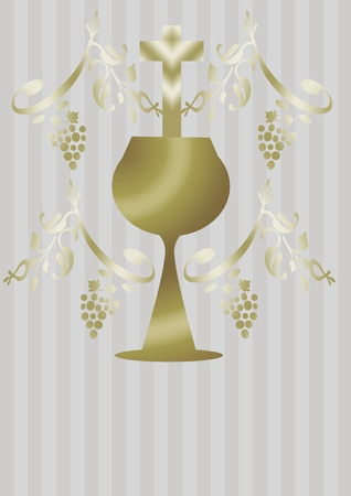 first communion card Stock Photo - 8594139