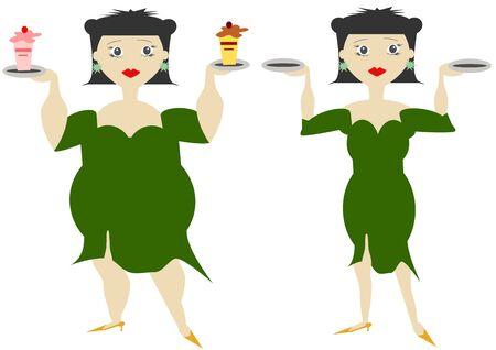 glutton: Women in diet