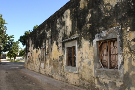 Mozambique: building in Island of Mozambique