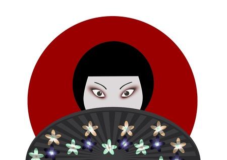 Japanese woman  photo