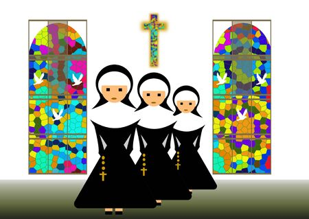 nun: nuns