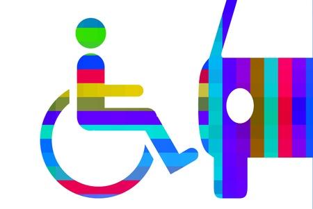handicap: Handicap   Stock Photo