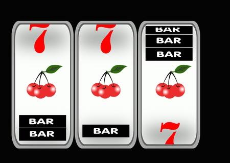slot machines    photo