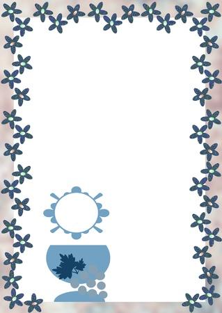 illustration with religious symbols Stock Illustration - 13522072