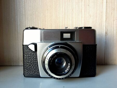 analogical: old camera    Stock Photo