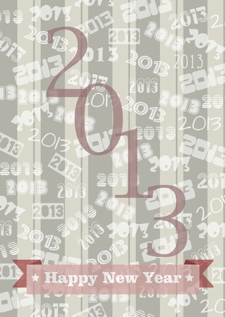 New Year 2013 Stock Photo - 16850470