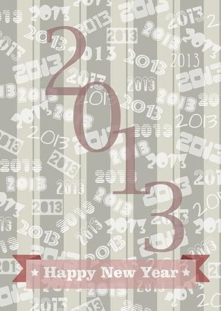 New Year 2013 Stock Photo - 16850470
