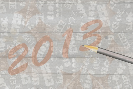 New Year 2013 Stock Photo - 16850474