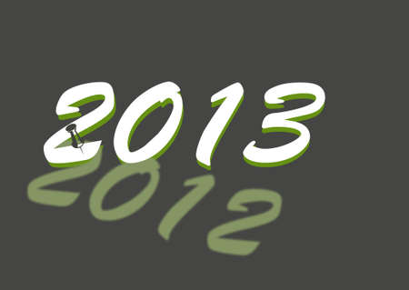 New Year 2013 Stock Photo - 16850465