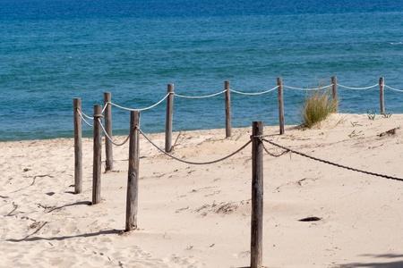 delimit: beach  Stock Photo
