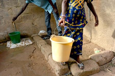 source d eau: collecte de l'eau
