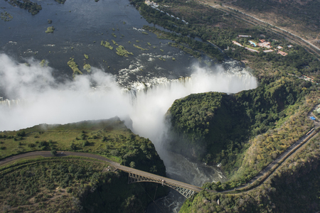 zambezi: Victoria falls  Stock Photo