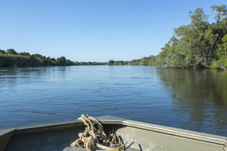 zambezi: coast of the river Zambezi