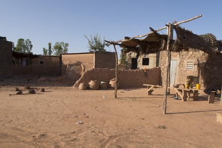 burkina faso: typical village in Burkina Faso