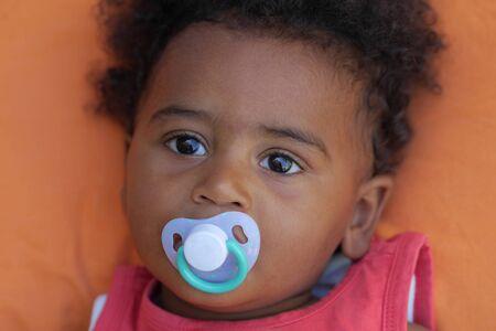 suck: african baby