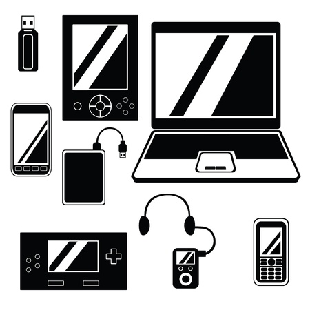mobile device: Mobile Device Icon Set