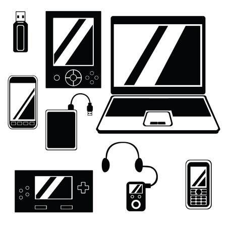 Mobile Device Icon Set