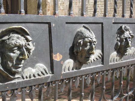 Gates of the 1st church