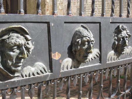 Gates of the 1st church    photo
