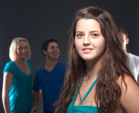 Group of young people having fun at a party. Stock Photo - 11003329