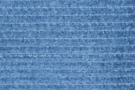 Blue canvas fabric with a repeating horizontal pattern Reklamní fotografie