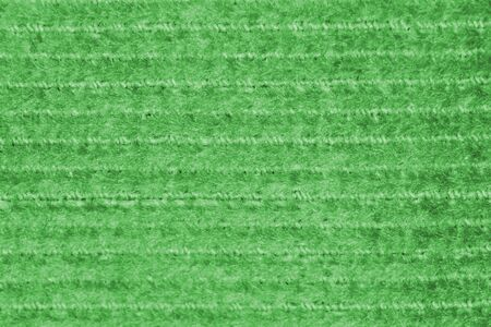 Green canvas fabric with a repeating horizontal pattern