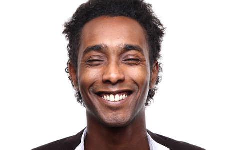 Portrait of a beautiful man Imagens