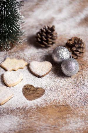 christmas cookies with vanilla sugar