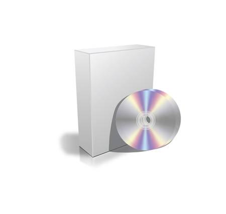 cd case: Cuadros en blanco perfectos con DVD