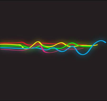 Diseño abstracto con líneas onduladas