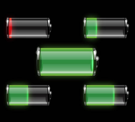 Battery vector Stock Vector - 8034172