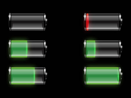 Battery vector Stock Vector - 8034174