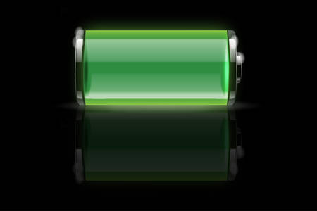 Battery vector Stock Vector - 8034173