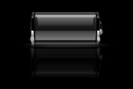 Empty battery vector Stock Vector - 8034135