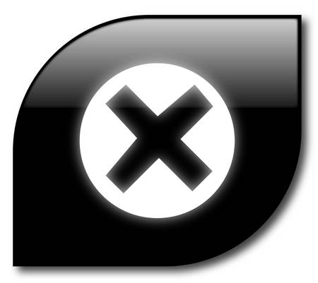 unchecked: Black  reject button