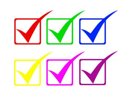 checkbox: Controllare i simboli