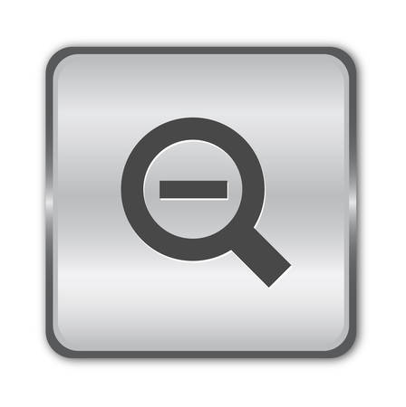 Chrome zoom out  button  Vector