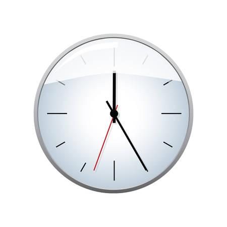 clock radio: Clock vector