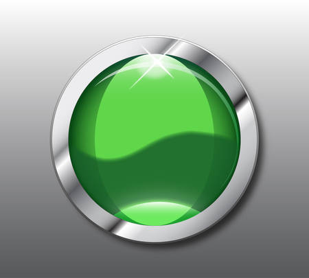 shop button: Empty green shop button