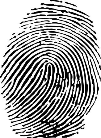 Fingerprint Stock Vector - 8347232