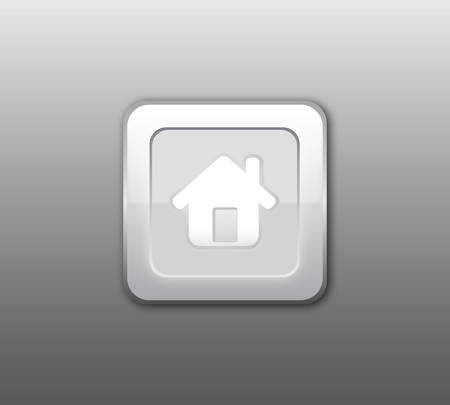 homepage: Gray home button
